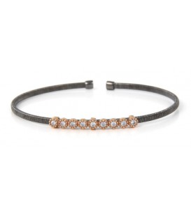PULSERA RIGIDA SIMPLE RUTEN/RS/9 CIRCON BRB245-6