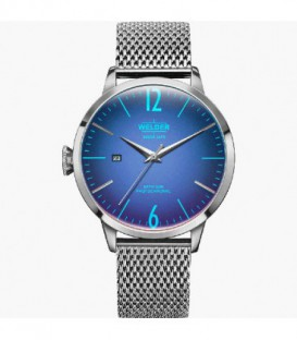 WELDER 42 MM 3H MESH BLUE DIAL WRC805