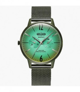 WELDER 42MM 3H SLIM GREEN SS GREEN DIAL WWRS419
