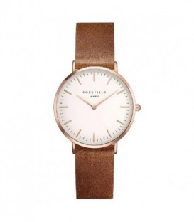 THE TRIBECA WHITE-BROWN-ROSEGOLD TWBRRC-T55