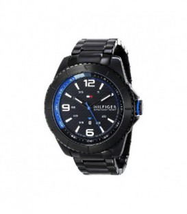 RELOJ ACERO PVD NEGRO TOMMY HILFIGER 1791001