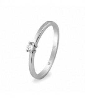 ANILLO DE COMPROMISO 1 DIAMANTE 0,10CT 74B0004