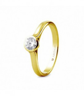 ANILLO 1 DIAMANTE TALLA BRILLANTE 0,34CT 74A0043