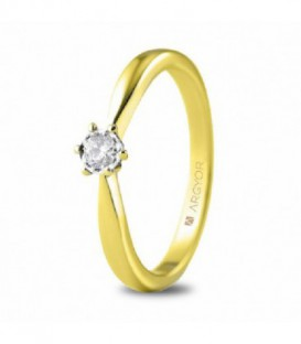 ANILLO 1 DIAMANTE TALLA BRILLANTE 0,14C 74A0514