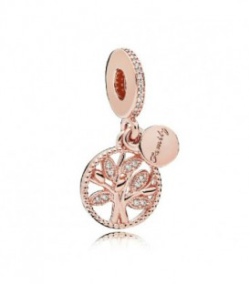CHARM ROSE CIRC ARBOL FAMILIAR 781728CZ