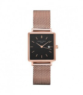 THE BOXY BLACK MESH ROSEGOLD QBMR-Q05