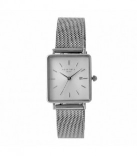 THE BOXY WHITE SUNRAY MESH SILVER QWSS-Q02