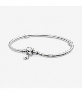 SNAKE CHAIN SILVER DAISY CLASP 598776C01-18