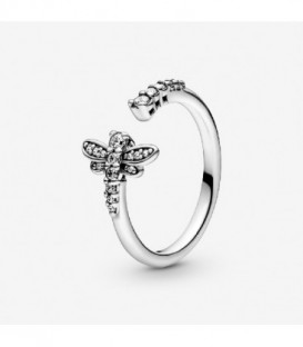 DRAGONFLY SILVER RING 198806C01-54