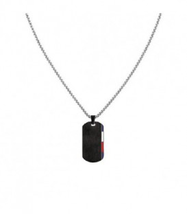 COLLAR ACERO PVD NEGRO TOMMY HILFIGER 2790249